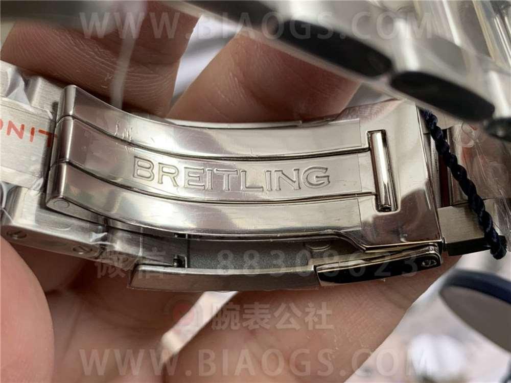 GF厂百年灵复仇者45mm双时区腕表做工评测