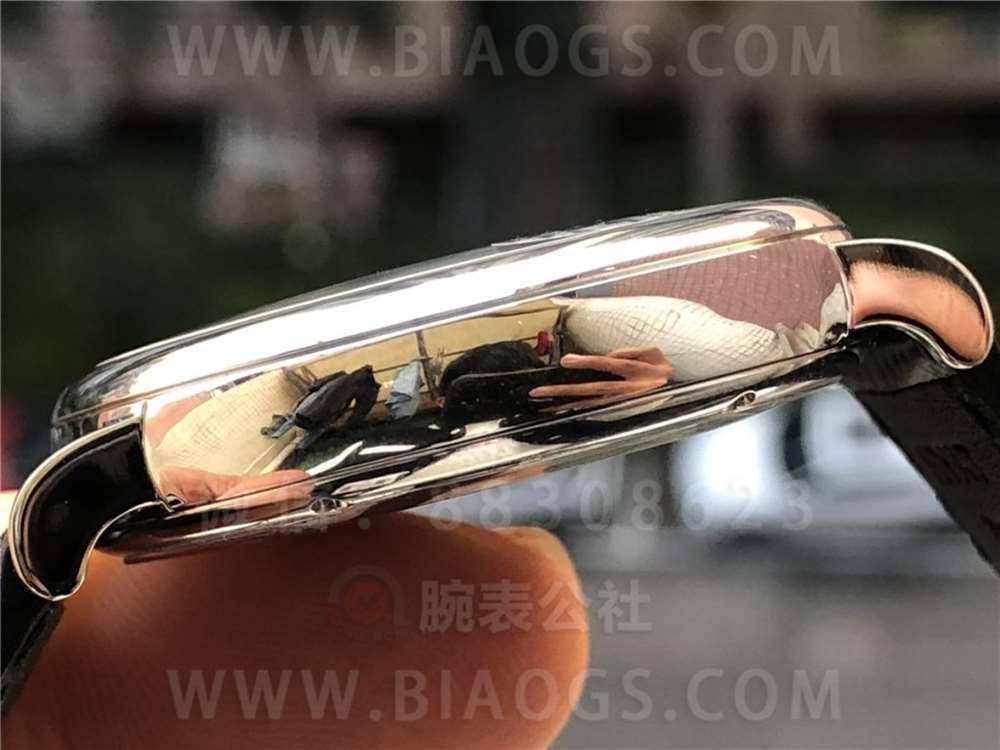 MKS厂万国柏涛菲诺月相「定制35800机芯」做工评测