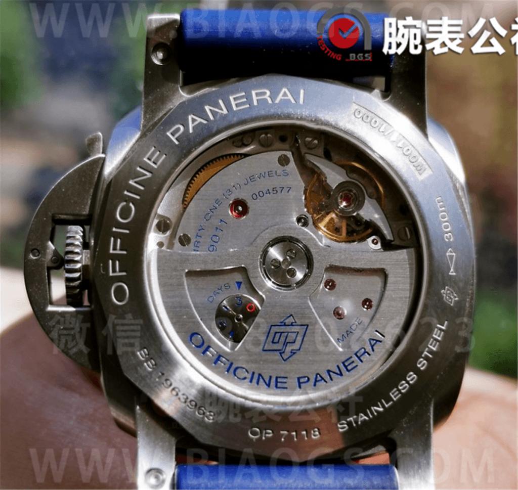 VS厂沛纳海1033「GMT」44MM骚蓝盘评测