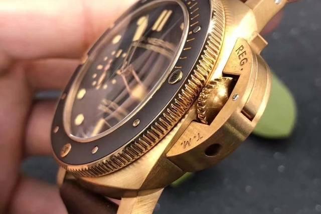 VS厂沛纳海青铜PAM968腕表男人专属魅力评测