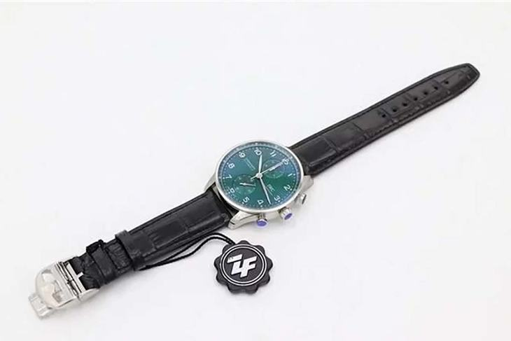 YL厂万国葡计IW371615绿盘腕表赏析