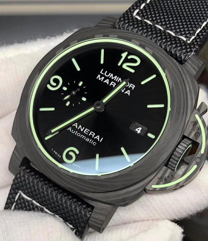 VS厂沛纳海PAM1118传奇夜光碳纤维腕表评测