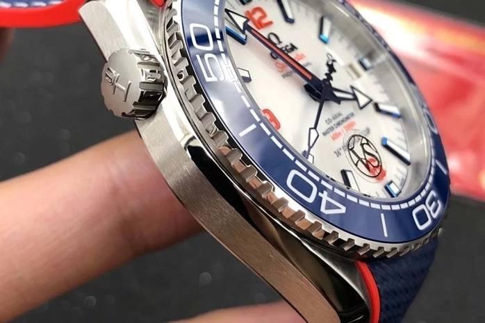 """VS厂欧米茄海马系列美洲杯""""红蓝白""""复刻腕表品测"""