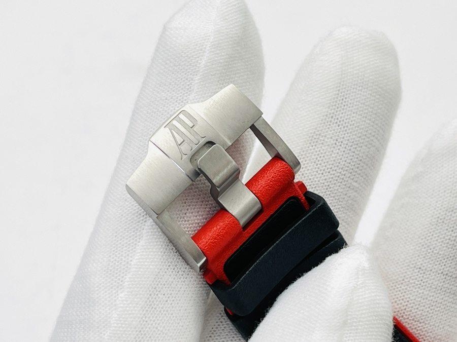 JF厂爱彼皇家橡树离岸型系列AP26470黑骑士钢壳陶瓷圈新品腕表