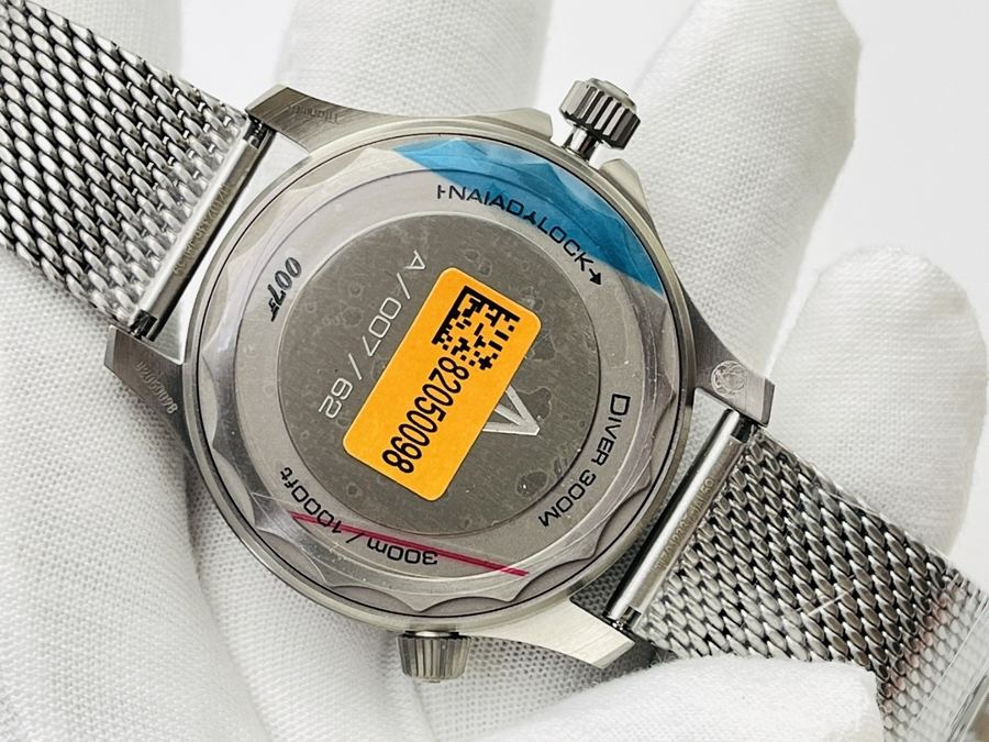 OR厂欧米茄omega阳极氧化铝金属007电影《无暇赴死》主题版腕表