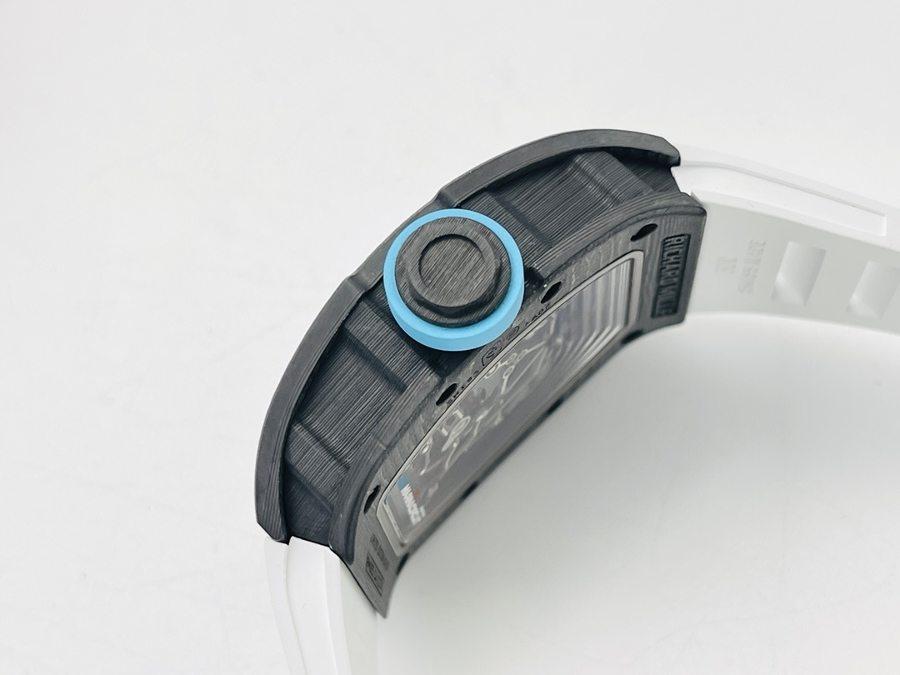 ZF厂理查德米勒RM055蓝圈碳纤维限量款腕表赏析