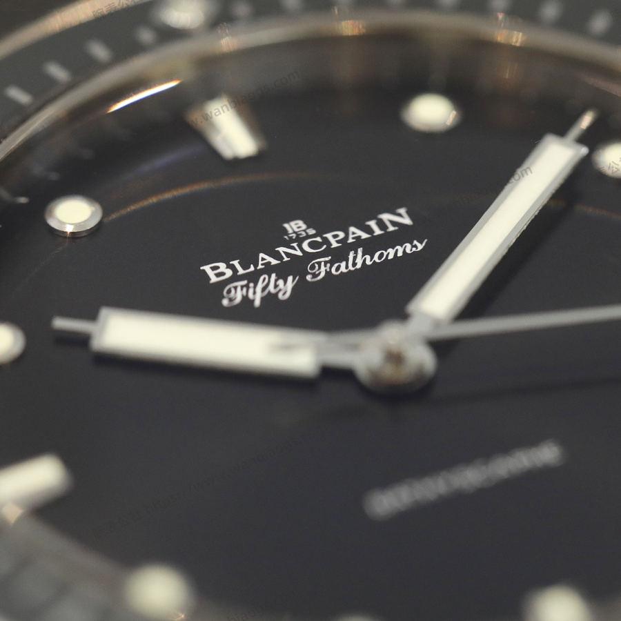 GF厂宝珀五十寻系列缎面磨砂钛金属腕表评测
